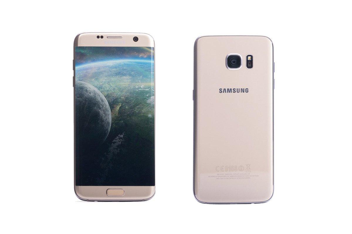 Samsung Galaxy S7 Edge Gold Platinum SM-G935F Grade B ...